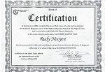 Jeffrey Stephen certificaat