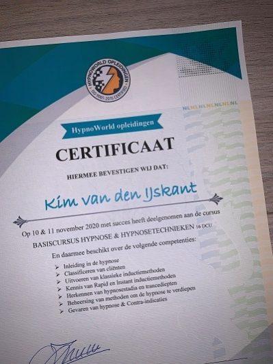 Gewaarmerkt certificaat
